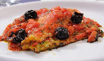 filetto di platessa come cucinarlo ricetta facile platessa al pomodoro e olive nere io