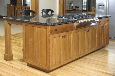 kitchen island with the cooktop built in if wishes came