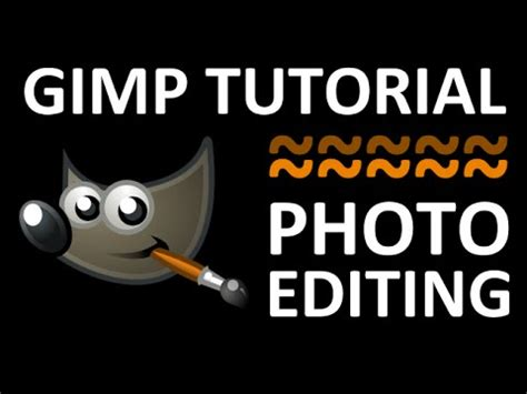 gimp tutorial editing photo how to download and install gimp free photo editing