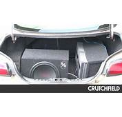How To Position Your Subwoofer For Loud Bass  Crutchfield