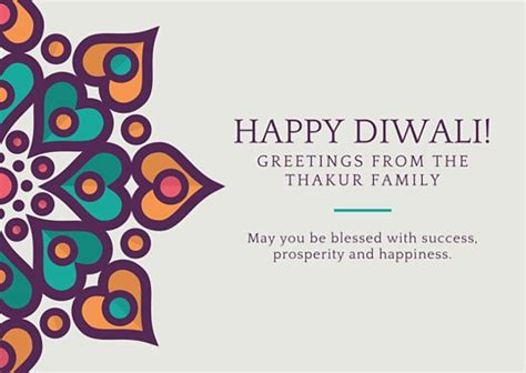 diwali greeting card template diwali festival greeting card templates by canva