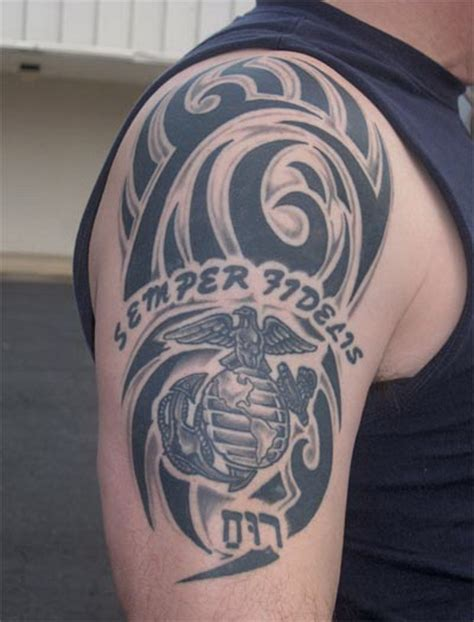 marine tribal tattoos usmc tribal marine corps usmc tats