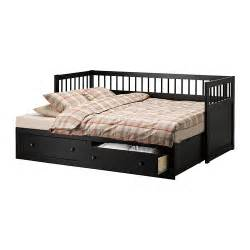 Ikea Daybed With Trundle Black White Ikea Hemnes Daybed With Storage Drawer Trundle Trundles Beds Bedroom