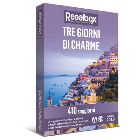 regalbox soggiorno di charme tre giorni di charme regalbox trinacria tour