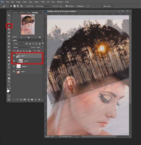 double exposure magic trick tutorial how to create double exposure effects in photoshop