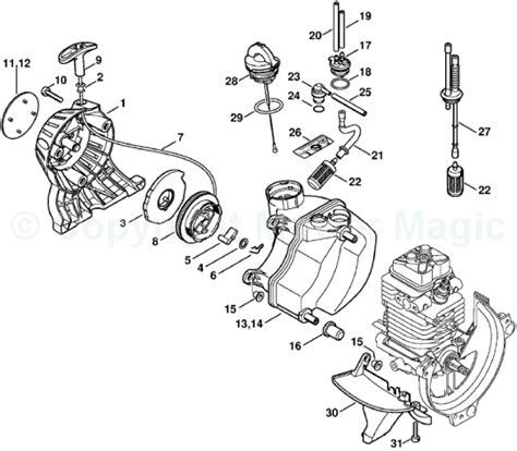 stihl fs 46 parts diagram image gallery stihl 130 parts