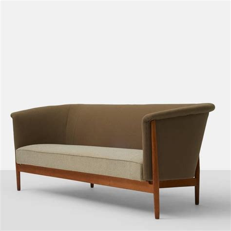 Curved Arm Sofa Nanna Ditzel Curved Arm Sofa At 1stdibs