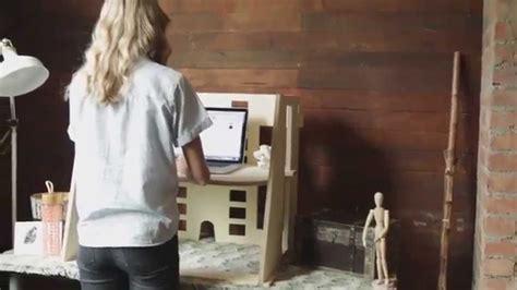 ervo sit to stand desk introducing the ervo standing desk youtube