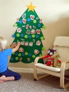 hacer arbol de navidad de tela manualidades de navidad para ni 241 os cincuenta ideas