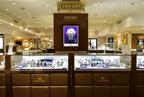 Seiko Store salon seiko mitsukoshi nihonbashi shopping in tokyo