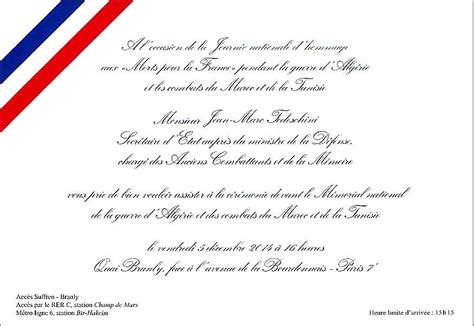 Modele De Lettre D Invitation Pour Obtenir Un Visa Modele Invitation Ministre Document