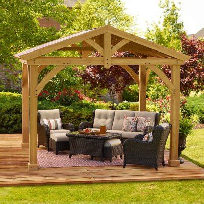 Outdoor Canopies And Gazebos by Gazebos Awnings Canopies Outdoor Enclosures Sam S Club