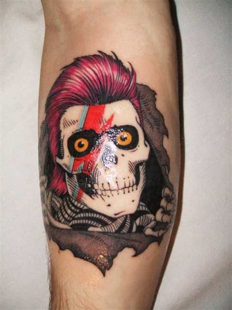 ziggy stardust tattoo ziggy stardust lightning bolts