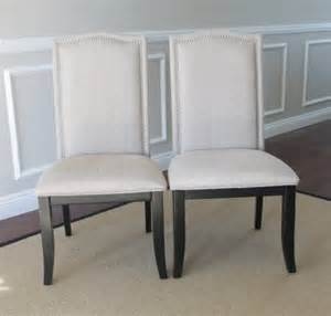 Dining Room Sets White Leather Chairs Furniture Sunpan Napa Wing Back Dining Chair In Tufted