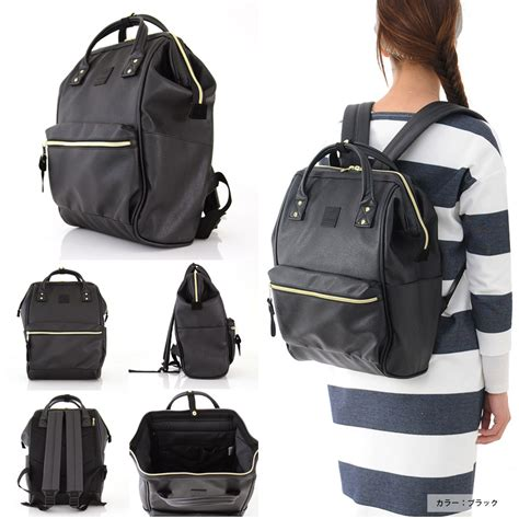 Anello Bagpacksmall stayblue for living rakuten global market anello anello backpack with leather