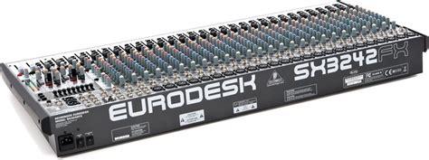 Mixer Behringer Sx3242fx behringer eurodesk sx3242fx image 1053977 audiofanzine