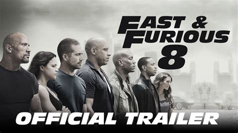 fast and furious 8 official trailer 2017 fast furious 8 official trailer 2017 vin diesel movie