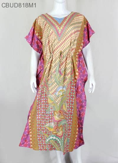Longdress Batik Jumbo Baju Santai Wanita Jumbo Perumahan Daster Murah daster kelelawar hap motif bunga daster longdress