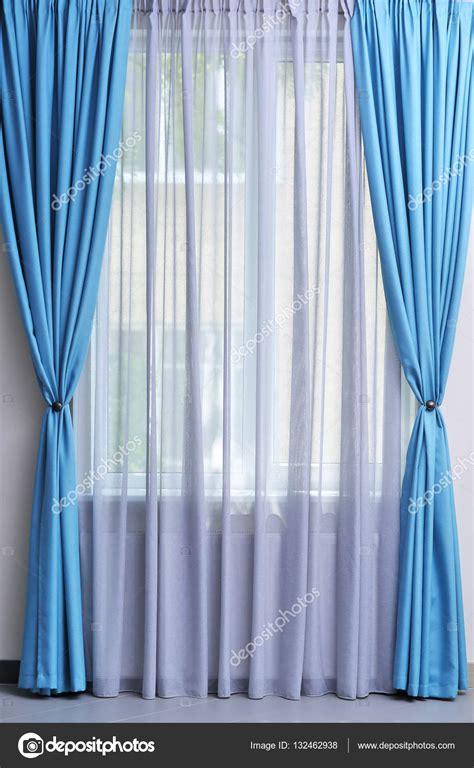 vorhang blau blaue vorh 228 nge m 246 belideen