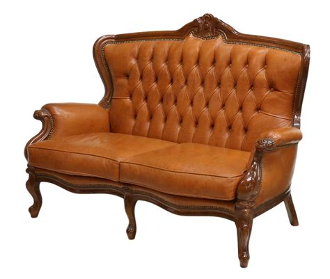 Leather Button Back Sofa Italian Leather Upholstered Button Back Sofa Two Day Estates Auction Day Two