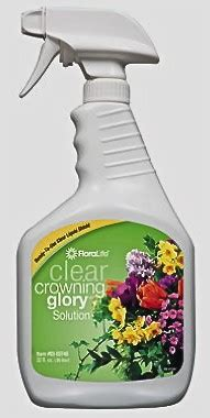 clear crowning glory floral supply syndicate floral crowning glory clear 32 oz spray bottle