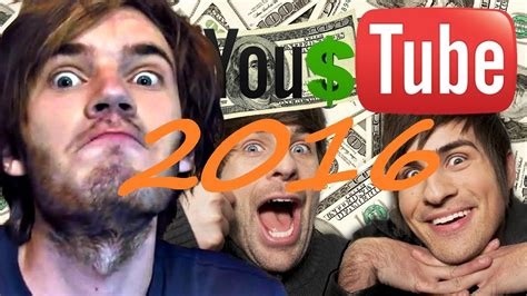 top 10 richest youtubers 2016