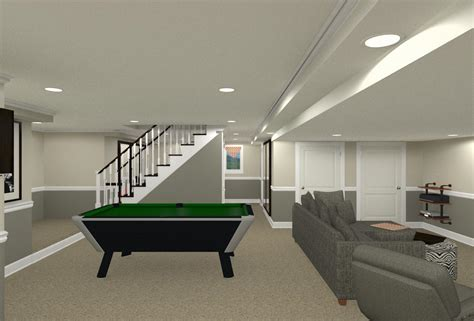 Basement Stairs Relocation In Warren Basement Stairs Relocation In Warren Nj Design Build Pros