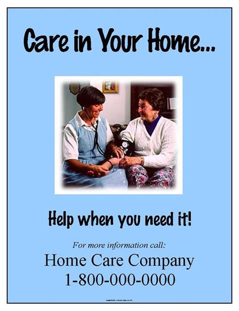 care in your home poster 074