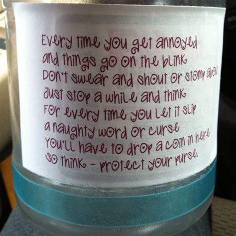 printable swear jar label pin by tina manuel on diy create it fix it clean it