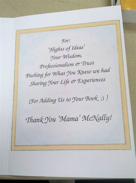 Thank You Letter Preceptor thank you card for a nursing clinical instructor 5
