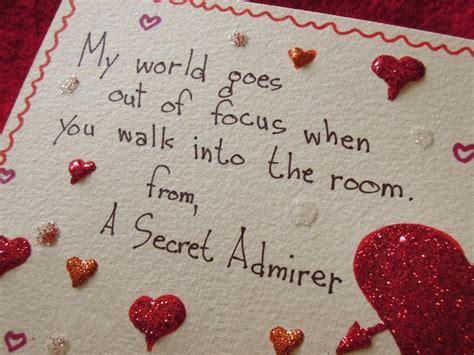 message for secret admirer secret admirer by joanne arnett kickstarter