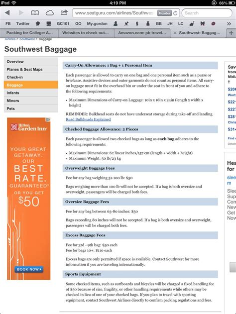 southwest airlines baggage policy southwest airlines baggage rules traveling pinterest