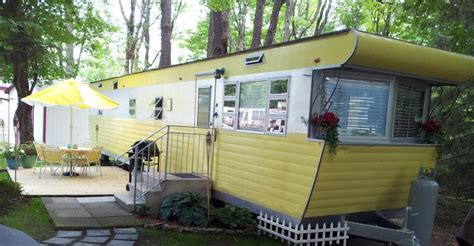 Replacing Wood Paneling by Vintage Mobile Home Restoration Sensational 1955 Smoker