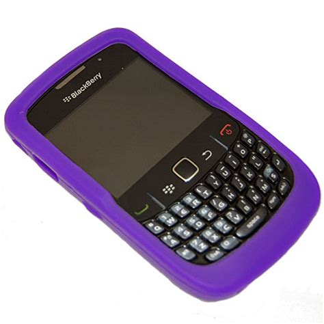 Casing Hp Blackberry Curve 8520 blackberry 8520 curve silicone purple