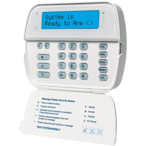 dsc wt5500 wireless 2 way alarm keypad geoarm security