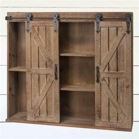 sliding barn door cabinet wood barn door wall cabinet antique farmhouse