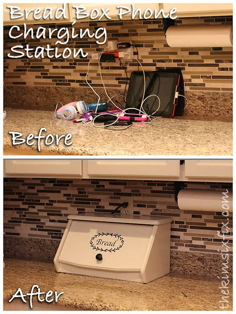 hometalk disguise  electronics charging station