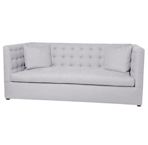 8 way hand tied sofa alden modern tufted 8 way hand tied oatmeal linen feather