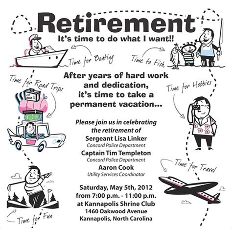 11 Retirement Party Flyer Templates To Download Sle Templates Retirement Flyer Template