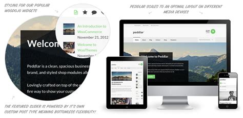 woothemes templates peddlar theme by woothemes themes templates