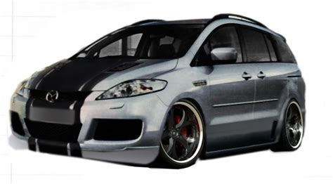 Auto Tuning Mazda 5 by Tuning Service Autos Post
