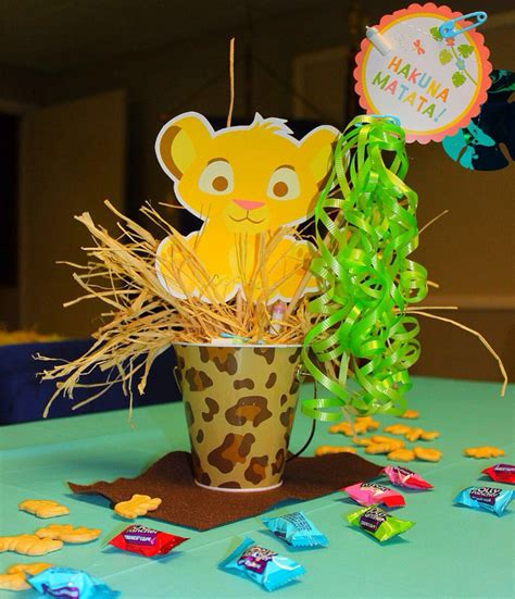 king baby shower centerpieces
