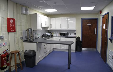 fitted kitchen bench seating facilities kingfisher table tennis club