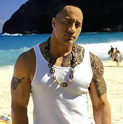 dwayne johnson tattoo name dwyane quot the rock quot johnson tattoos pictures images pics