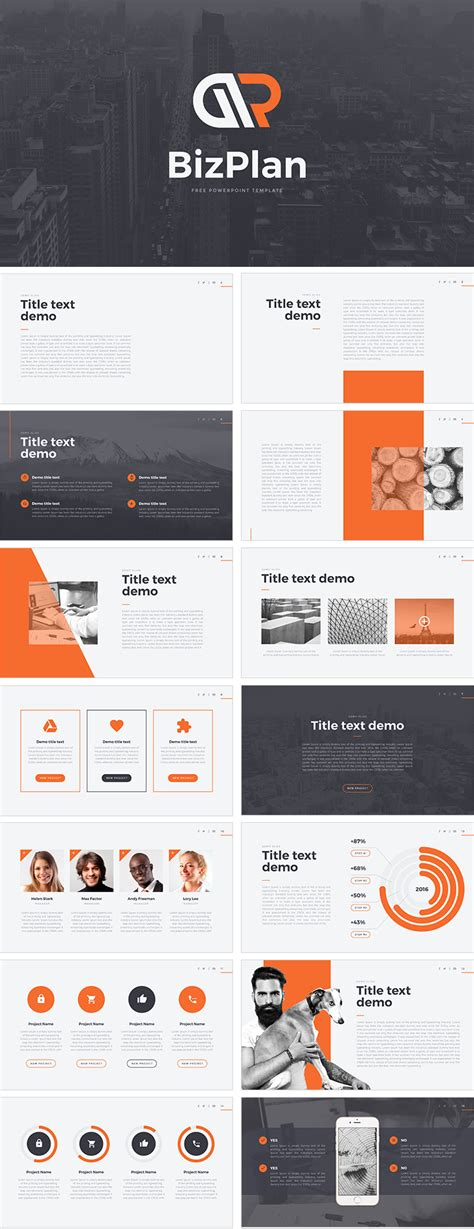 ppt templates free download unique bizplan free powerpoint template download free