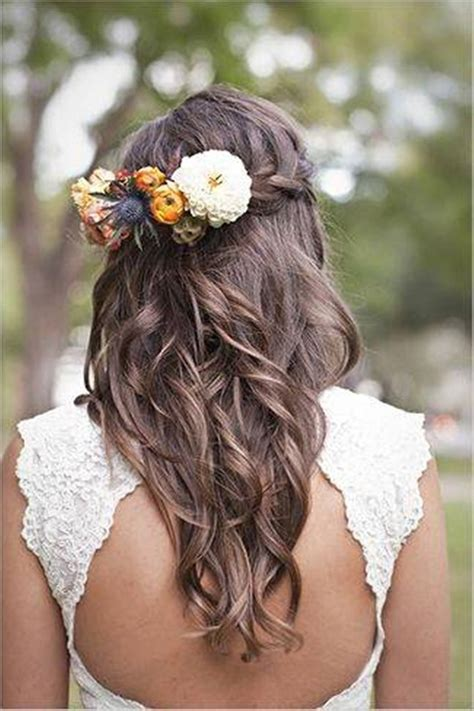 bridal hairstyles long very beautiful bridal hairstyles for long hair 2018 19