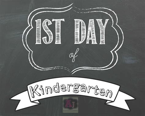 Day Of School Sign Template by Day Of School Printable Template Day Of