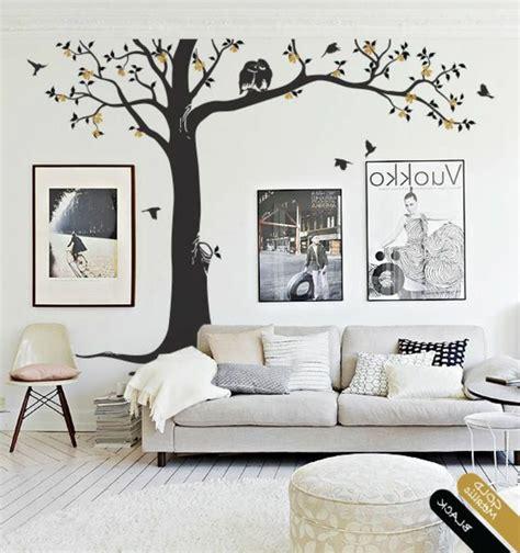 chambre arbre stickers chambre adulte lesquels choisir