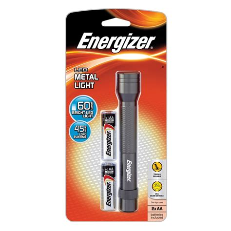 Battery Bb Torch energizer metal led 2aa torch bunnings warehouse