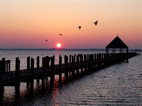 sunset  northside park ocean city md flickr photo